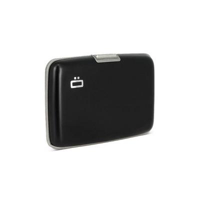 오곤 알루미늄지갑 스톡홀름 블랙(그레이 인테리어)