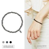 925실버크리스탈 elastic 팔찌 A0102150