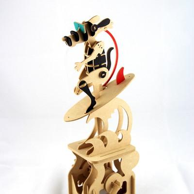 쿨한 써핑 강아지-Surfing Dog