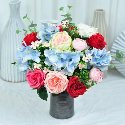 생기있는 산소꽃 성묘꽃 조화 꽃다발 추모제꽃