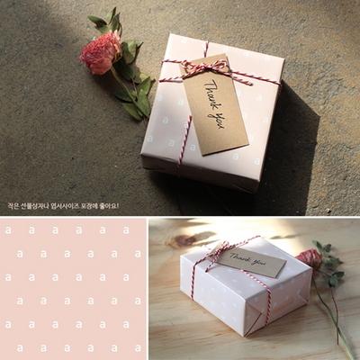 앳원스-캘리그라피용 책갈피 칼라무지택 50매
