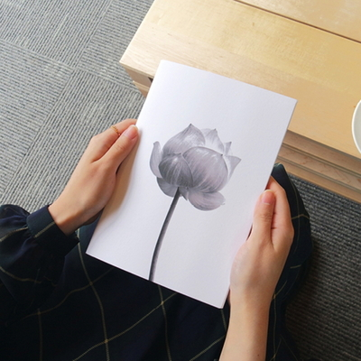 Monotone Series - Type A - Flower-1