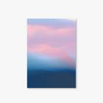 Nature Watercolor Series - Type D - Pink Sky