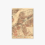Old Map Series - Type A - London Map-1