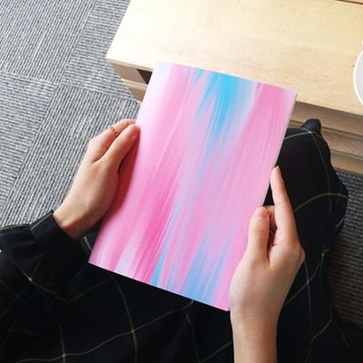 Marbling Series - Type D - Blue Pink