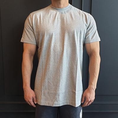 머슬핏 코튼 반팔 티셔츠