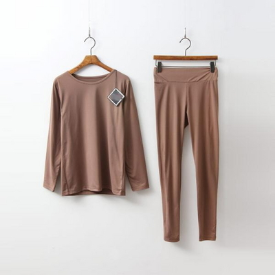 [Set] Warm Tee + Leggings