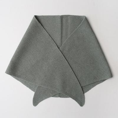 Knit Triangle Muffler