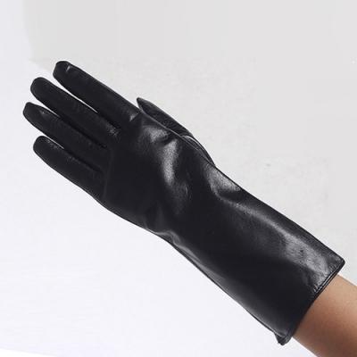 Jackie Midi Leather Gloves