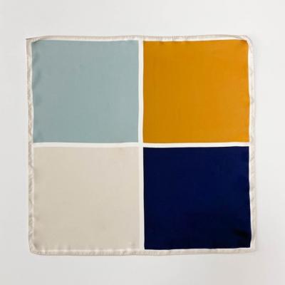 Color Block Square Petit Scarf