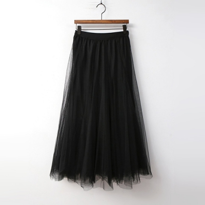 Princess Cha Full Long Skirt 여성 캐주얼 스커트
