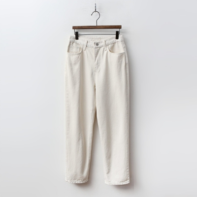 Cream Loose Boy Fit Jeans여성 캐주얼 청바지 팬츠