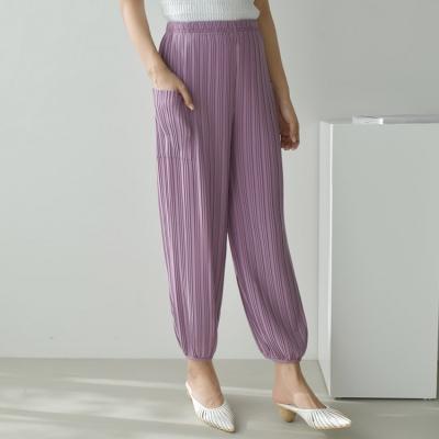 Pleats Pocket Jogger Pants