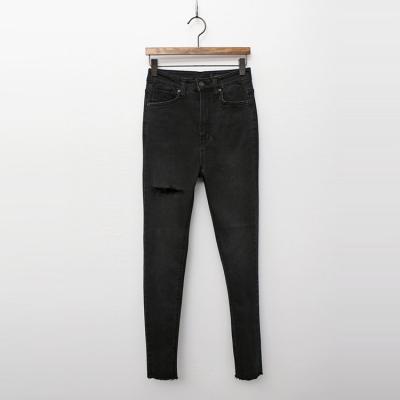 Black Super Skinny Jeans여성 캐주얼 청바지 팬츠