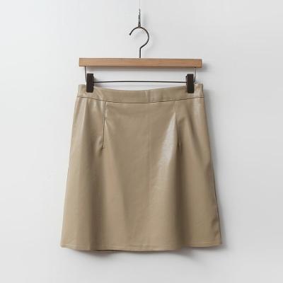 Fa_ux Leather Mini Skirt