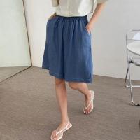 Summer Bermuda Denim Shorts