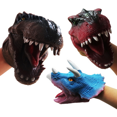 100%리얼 공룡장갑 (공룡놀이 손인형)