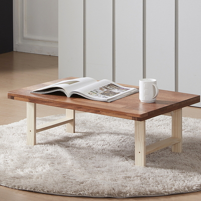 멀바우 원목 접이식 테이블