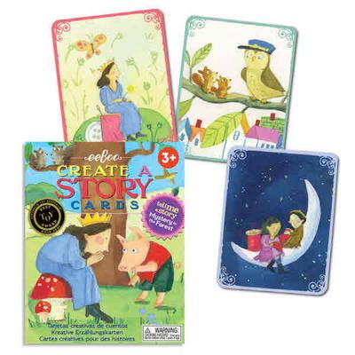 이부 숲속의 미스터리 스토리텔링 카드 / 3세 이상, 유아, 가족, 나만의 이야기 만들기