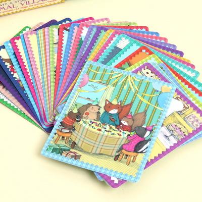이부 동물마을 스토리텔링 카드 / 3세 이상, 유아, 가족, 나만의 이야기 만들기