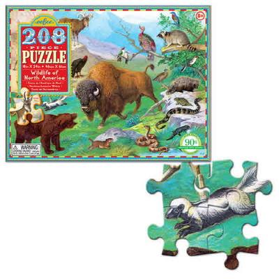 북미 야생동물 208피스 퍼즐 / 8세이상