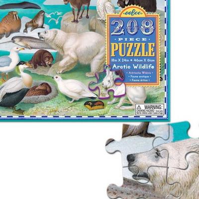 이부 북극 야생동물 208피스 퍼즐 (8세 이상, 빅사이즈 피스, 완성 46X61cm)