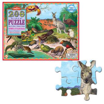 이부 오스트랄라시아 야생동물 208피스 퍼즐 (8세 이상, 빅사이즈 피스, 완성 46X61cm)