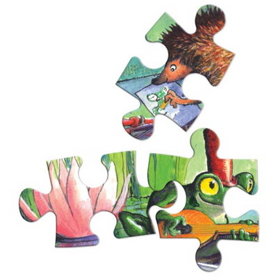 이부 보트 라이드 42피스 퍼즐 (4세 이상, 빅사이즈피스, 완성 28X38cm)