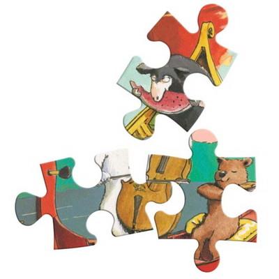 이부 파티 온 더 레이크 42피스 퍼즐 (4세 이상, 빅사이즈피스, 완성 28X38cm)
