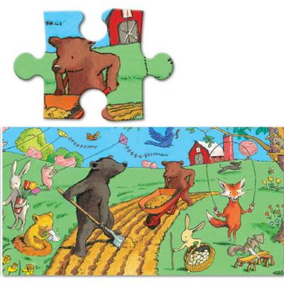 이부 아름다운 아침 파노라마 36피스 퍼즐 (3세 이상, 빅사이즈피스, 완성 24X92cm)