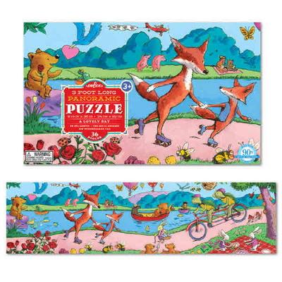 이부 러블리 데이 파노라마 36피스 퍼즐 (3세 이상, 빅사이즈피스, 완성 24X92cm)