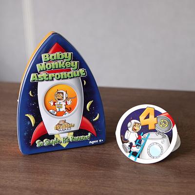 우주비행사 아기원숭이 메모리게임 (5세 이상, 유아, 한글 설명서)