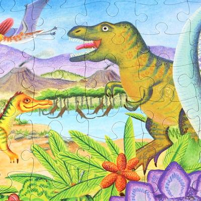 공룡시대 100피스 퍼즐 / 5세이상