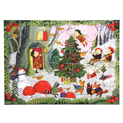 숲속의 크리스마스 20피스 퍼즐 / 3세이상