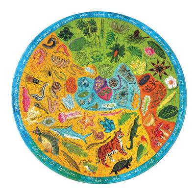 다양한 생물들 500피스 라운드 퍼즐