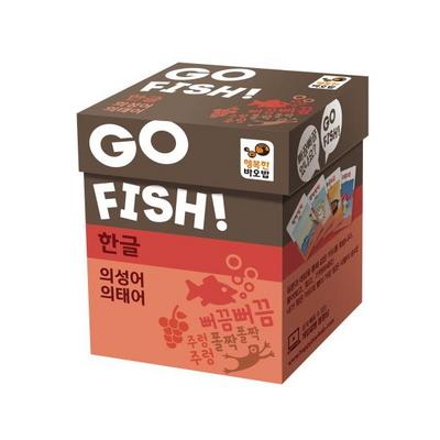 행복한바오밥 고피쉬 한글 의성어, 의태어 보드게임 (5세 이상, 2-5인, 국어)