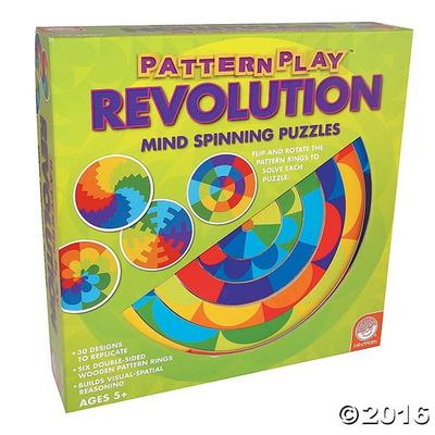 패턴플레이 레볼루션 원목도형퍼즐(5세이상)