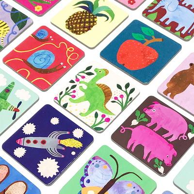 이부 띵스 아이 노우 메모리게임 (5세 이상, 1인이상, 24쌍, 동물, 사물 매칭)