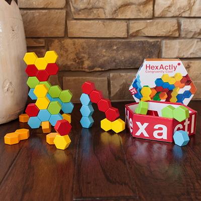 공간27 히그잭틀리 퍼즐게임 (3세 이상, 1인, 입체, 평면도형학습)