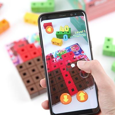 애니블록 챌린저 퍼즐게임  / 5세이상 두뇌발달 스마트폰연동