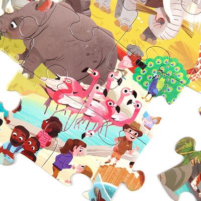 동물원 현장학습 48피스 퍼즐 / 5세이상