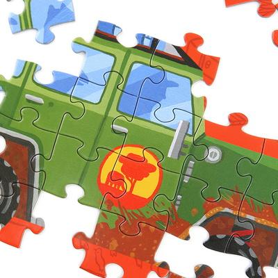 사파리자동차 48피스 퍼즐 / 5세이상
