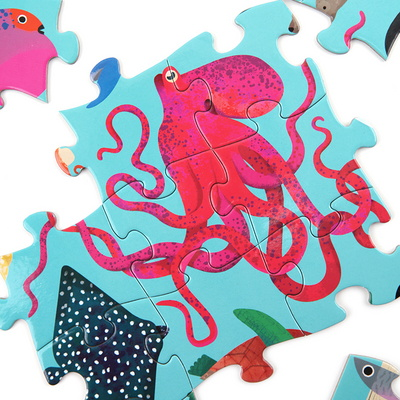 바다동물 72피스 퍼즐 / 5세이상