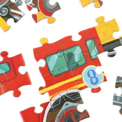 기관차 48피스 퍼즐 / 5세이상