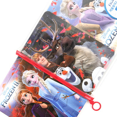 디즈니 겨울왕국2 지퍼 퍼즐 / 3세이상 2세트 (18 24피스)