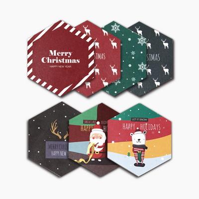 육각 크리스마스 카드 에디션_Vol.01