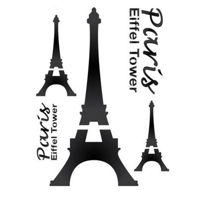 스텐실도안 ST-016.에펠탑