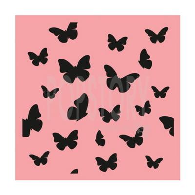 스텐실도안 ST-244.패턴-나비무늬