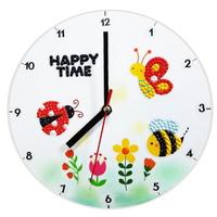 보석십자수-나비와곤충 시계