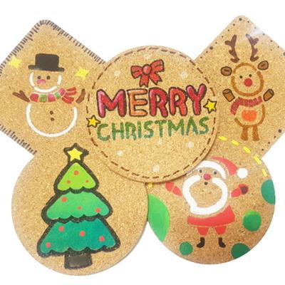 크리스마스 스텐실 컵받침만들기(5인용)